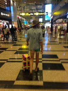 This Champion at Changi Airport