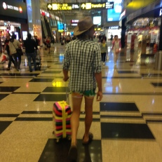 This Champion at Changi Airport