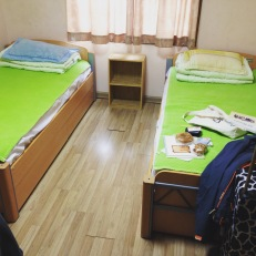 dorm rooms at orientation