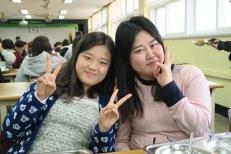 Hae Min and my Co-Teacher, So Yeong
