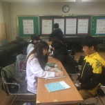 My grade 6s playing doctors and patients