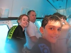 In the semi submersible
