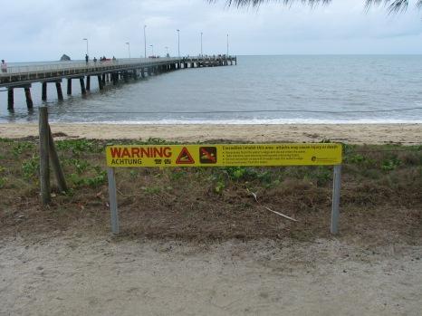 The Jetty + croc warning