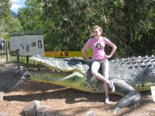 at Hartley's Crocodile Adventures